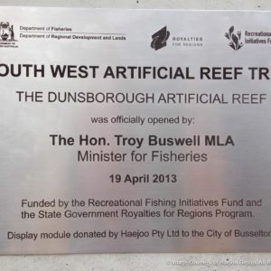 Display module donated to City of Busselton
